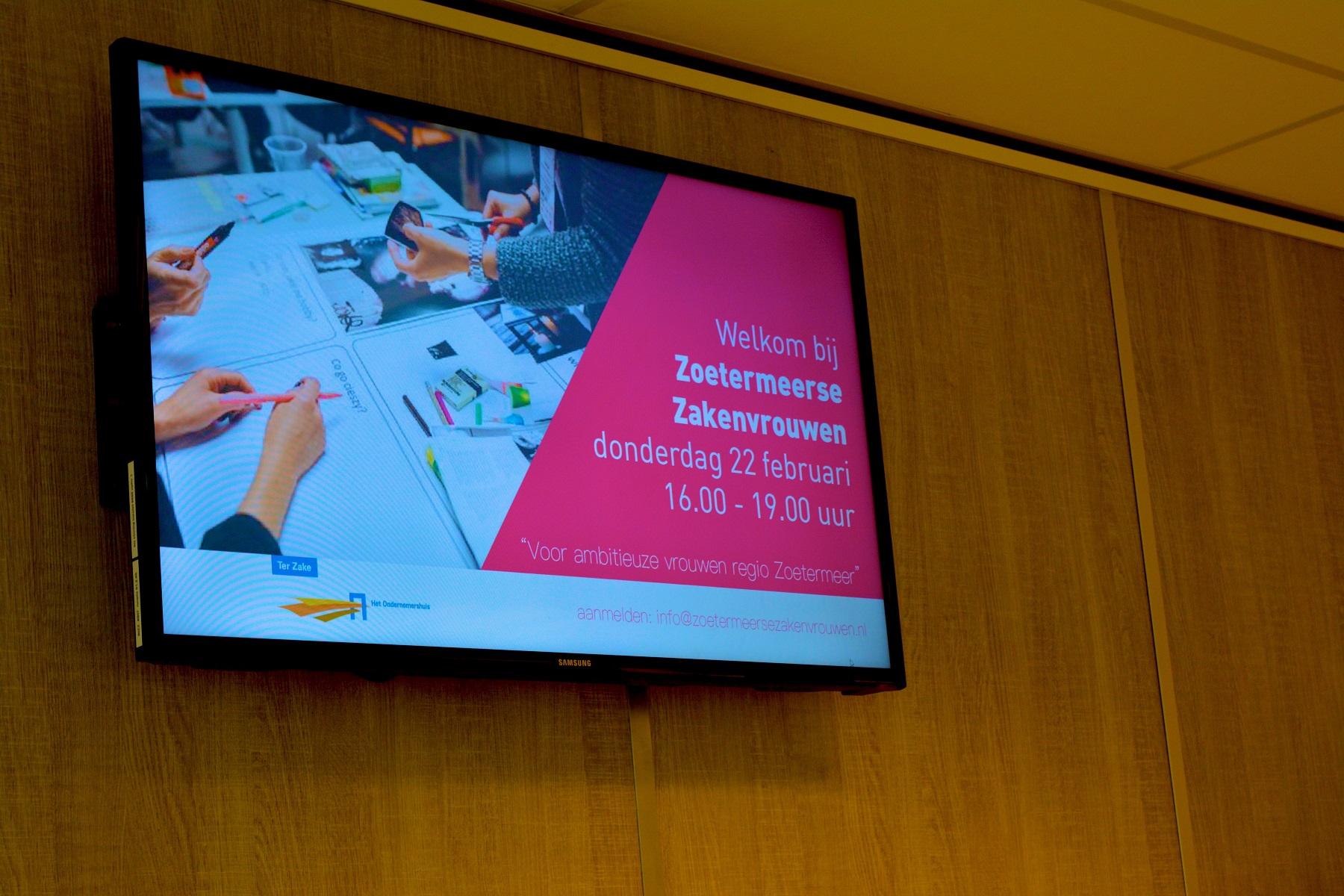 Bijeenkomst #1: Zoetermeerse Zakenvrouwen